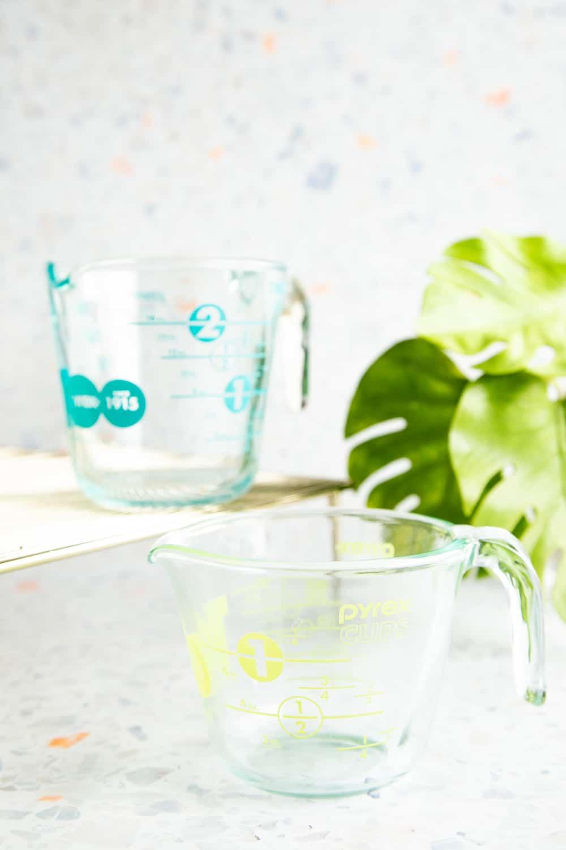 liquid ingredient measuring cups