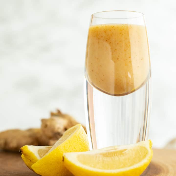 Lemon Ginger Cayenne Energy Shot
