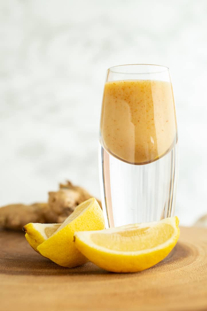 Lemon Ginger Cayenne Shot: A Taste of Dragon's Breath