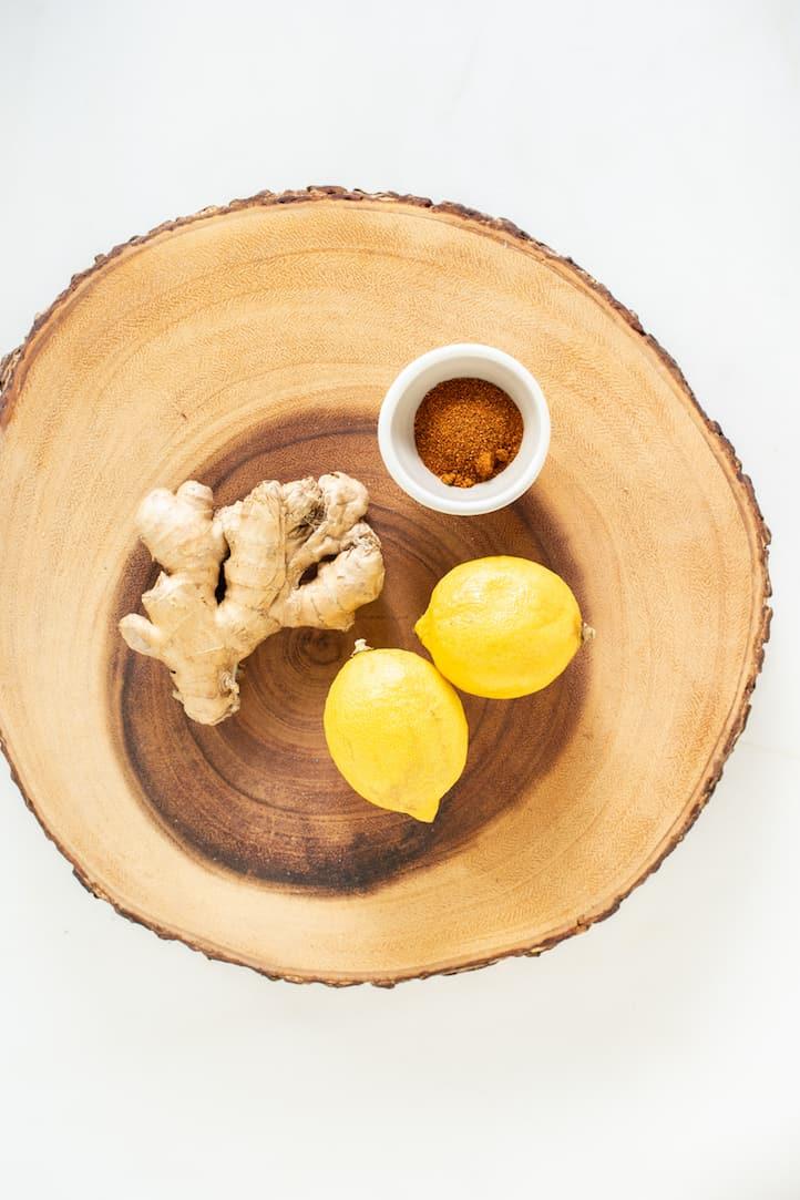 lemon ginger cayenne shot, via www.goodfoodstories.com