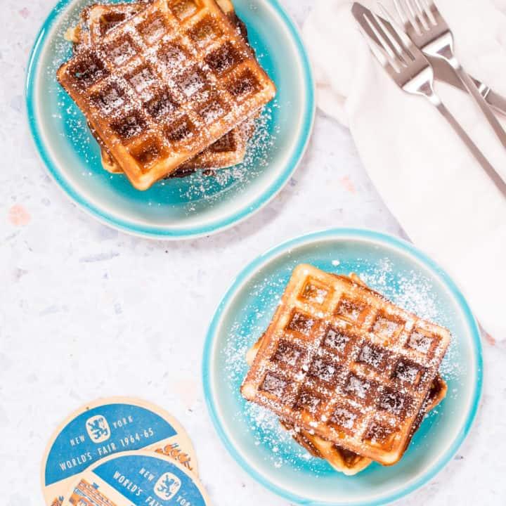 world's fair belgian waffles
