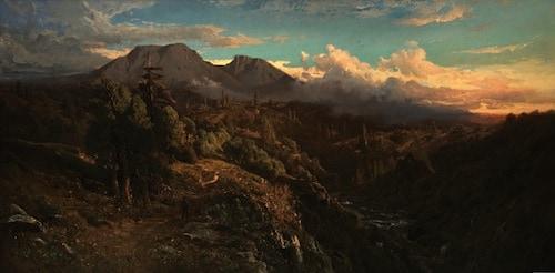 William Keith, Mt. Tamalpais