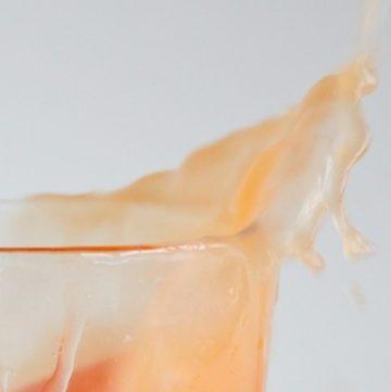 grapefruit shrub cocktail