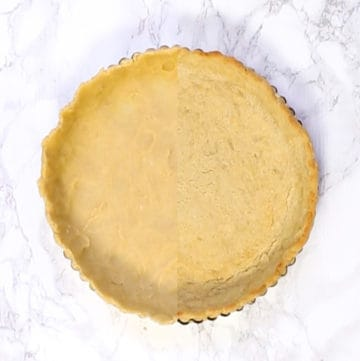 no-roll tart crust