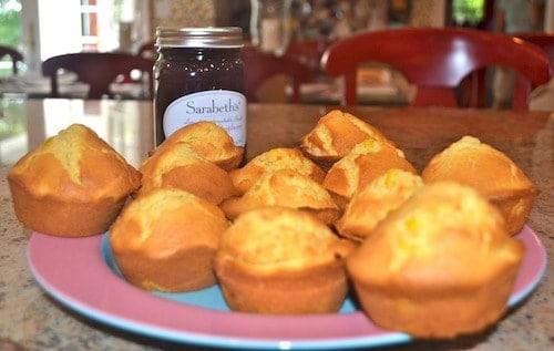 sarabeth's double corn muffins