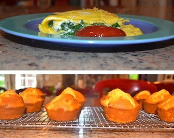 sarabeth's bakery omelet and muffins