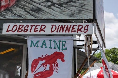 spragues lobster wiscasset