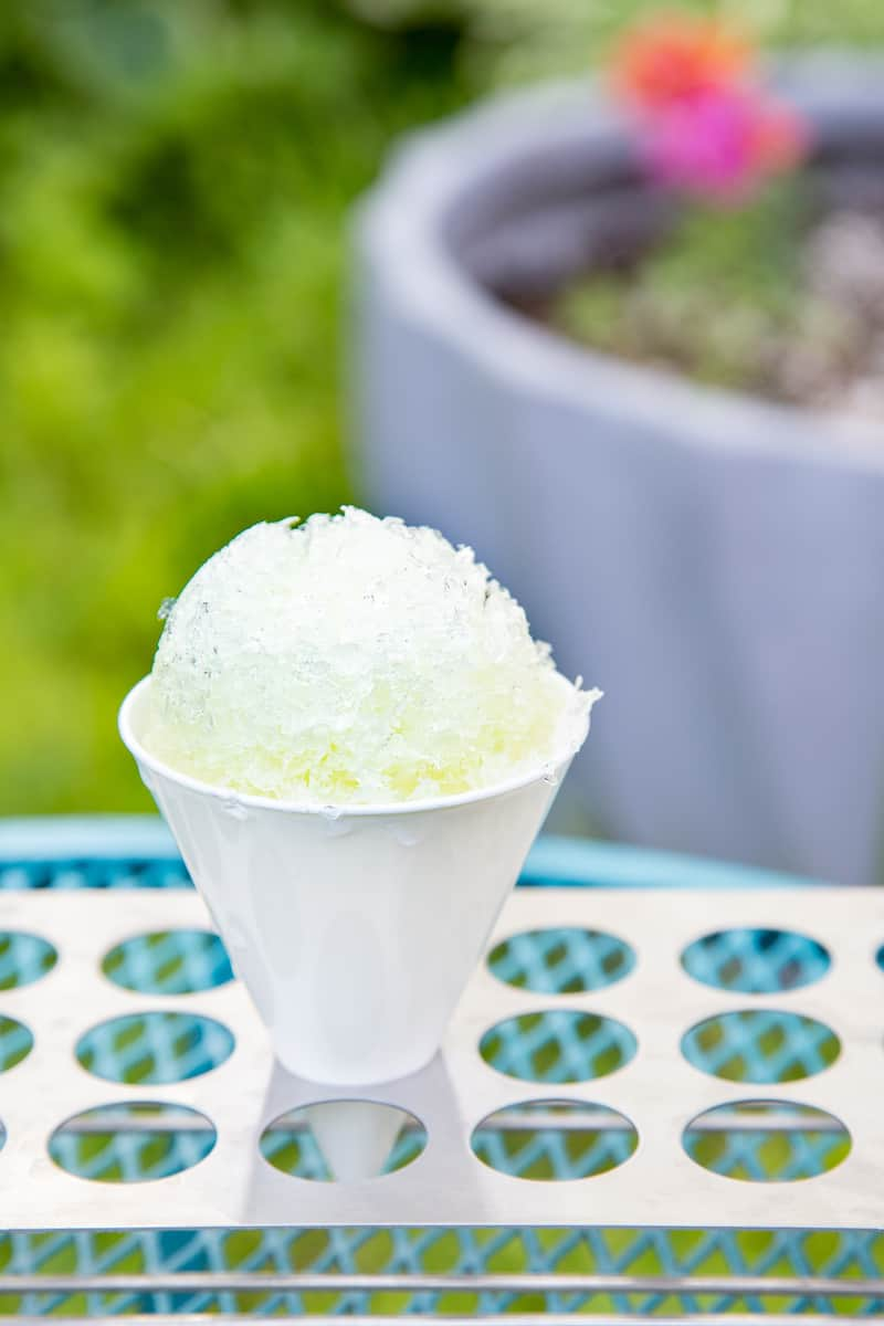 homemade lemon-lime sno cone syrup