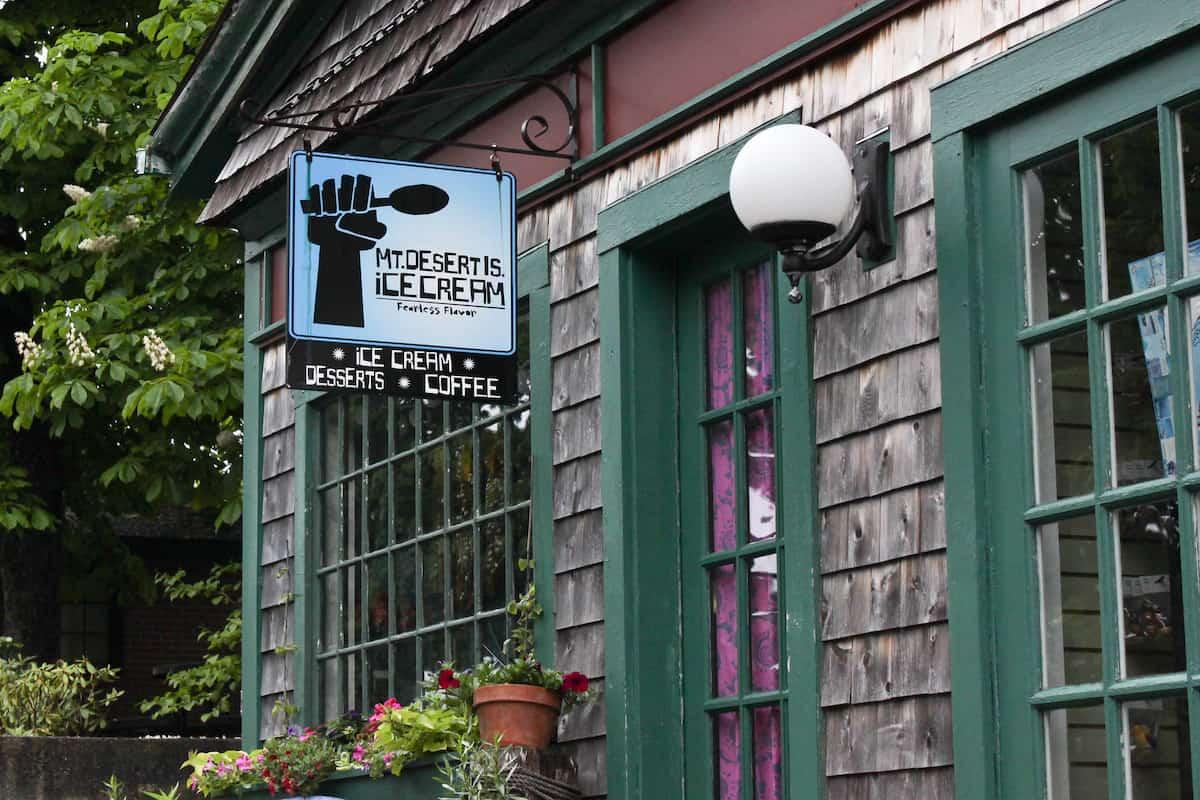 Mt Desert Ice Cream, Bar Harbor Maine