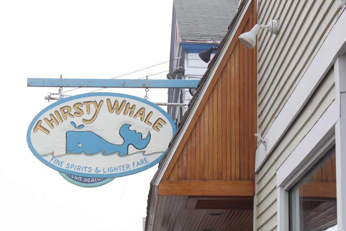 Thirsty Whale Tavern, Bar Harbor Maine