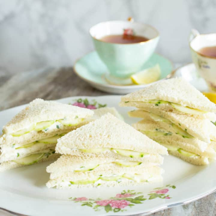 Oscar Wilde's Tempting and Irresistible Cucumber Sandwiches