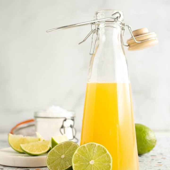 lime sea salt soda syrup