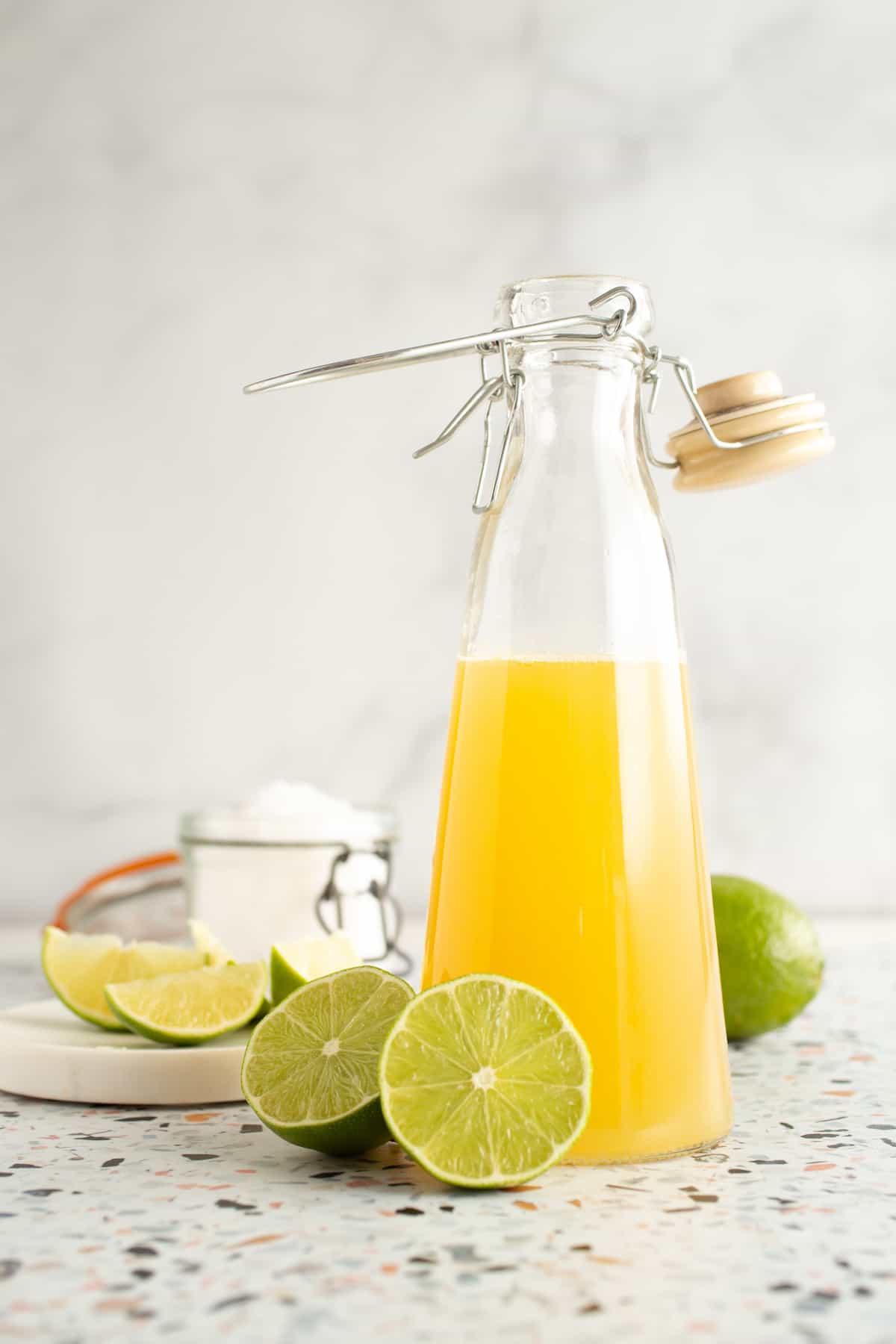 Lime-Sea Salt Soda Syrup from The Artisan Soda Workshop