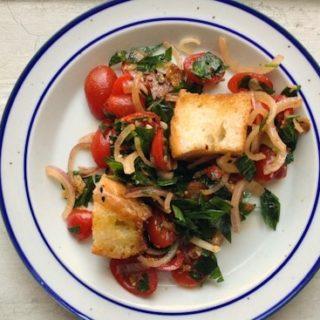 panzanella bread salad