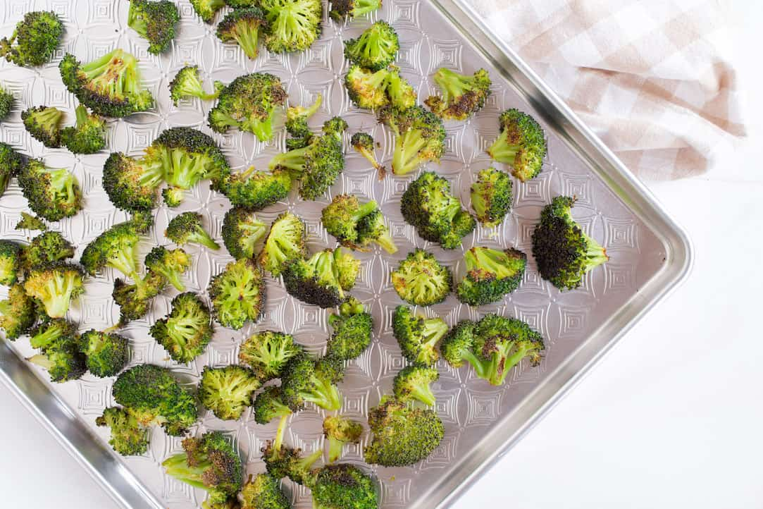 coconut roasted broccoli