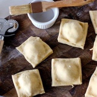 Homemade Ravioli, or, How I Learned To Stop Worrying and Love the Rolling Pin