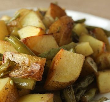 bulleit bourbon potatoes