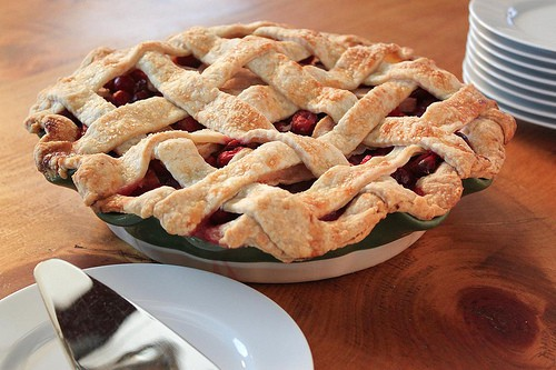 Post image for Cherry-Cranberry-Pear Pie: Summer and Fall in One Crust