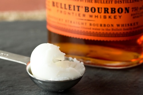duck fat and bulleit bourbon
