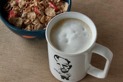 cereal bowl and coffee mug