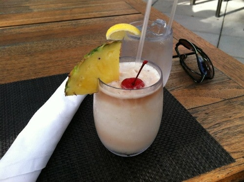 four seasons pina colada