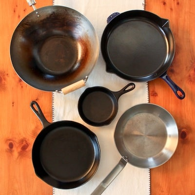 natural nonstick skillets