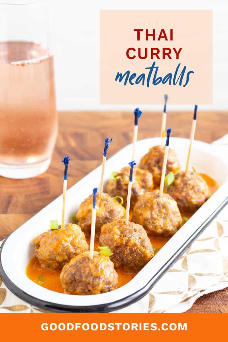 Thai curry meatballs