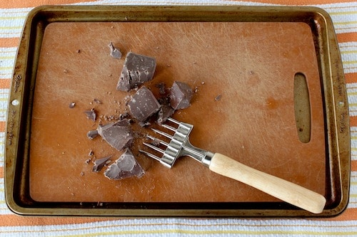 The Best Way to Chop Chocolate