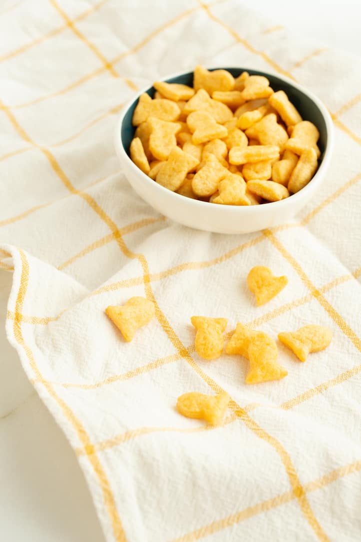 homemade Goldfish crackers from Classic Snacks Made from Scratch - via www.goodfoodstories.com