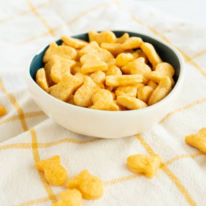 Homemade Goldfish Crackers from Classic