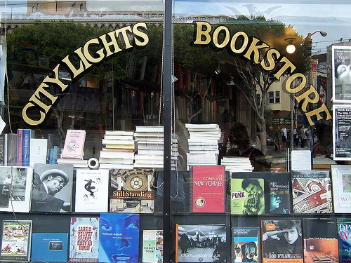 city lights bookstore, san francisco