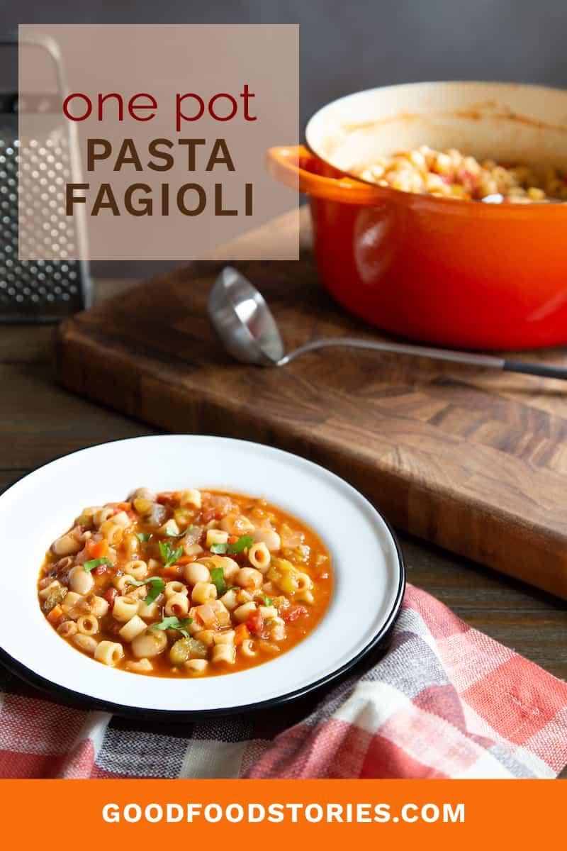 one pot pasta fagioli