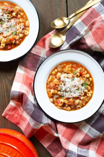 One-Pot Pasta Fagioli for A Souper Supper