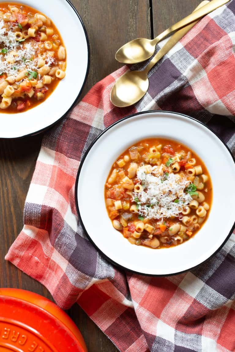 One-Pot Pasta Fagioli for A Souper Supper
