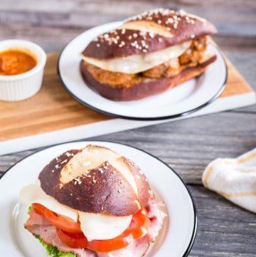 pretzel bread and pretzel roll recipe, via goodfoodstories.com