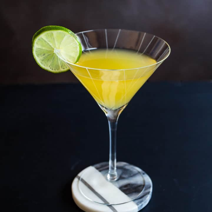 The Bitter Gimlet (Gin Gimlet with Citrus Bitters)