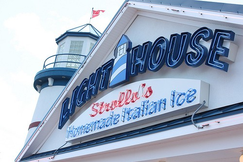 Lighthouse Italian Ice, New Jersey, via www.www.goodfoodstories.com