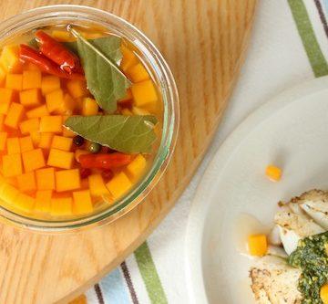 Pickled Butternut Squash via www.goodfoodstories.com