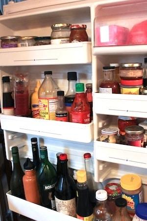 refrigerator condiments