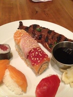 sushi at Caesar's Palace, via goodfoodstories.com