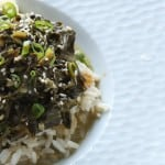 Coconut Creamed Spinach: Pretty on the Inside