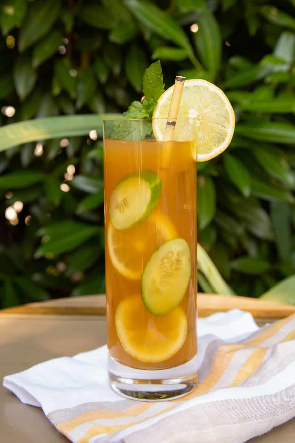 The Pimm's Palmer: An Arnold Palmer-Style Pimm's Cup