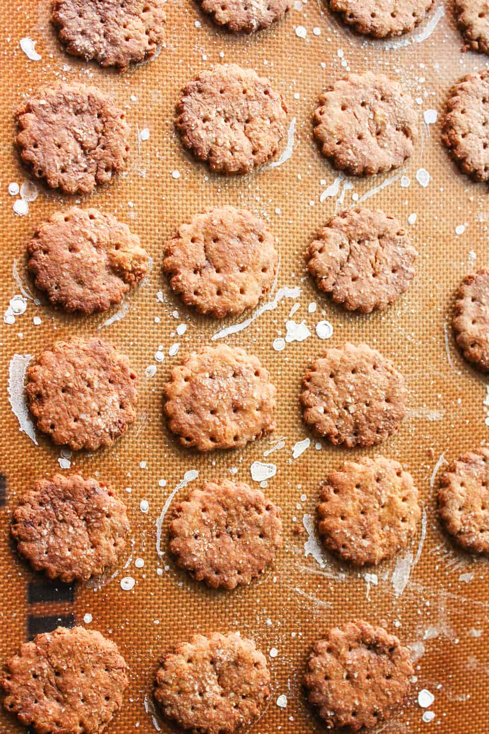 Whole Wheat Pretzel Crackers That Are Flipping Awesome