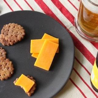 Flippin' Awesome Whole Wheat Pretzel Crackers