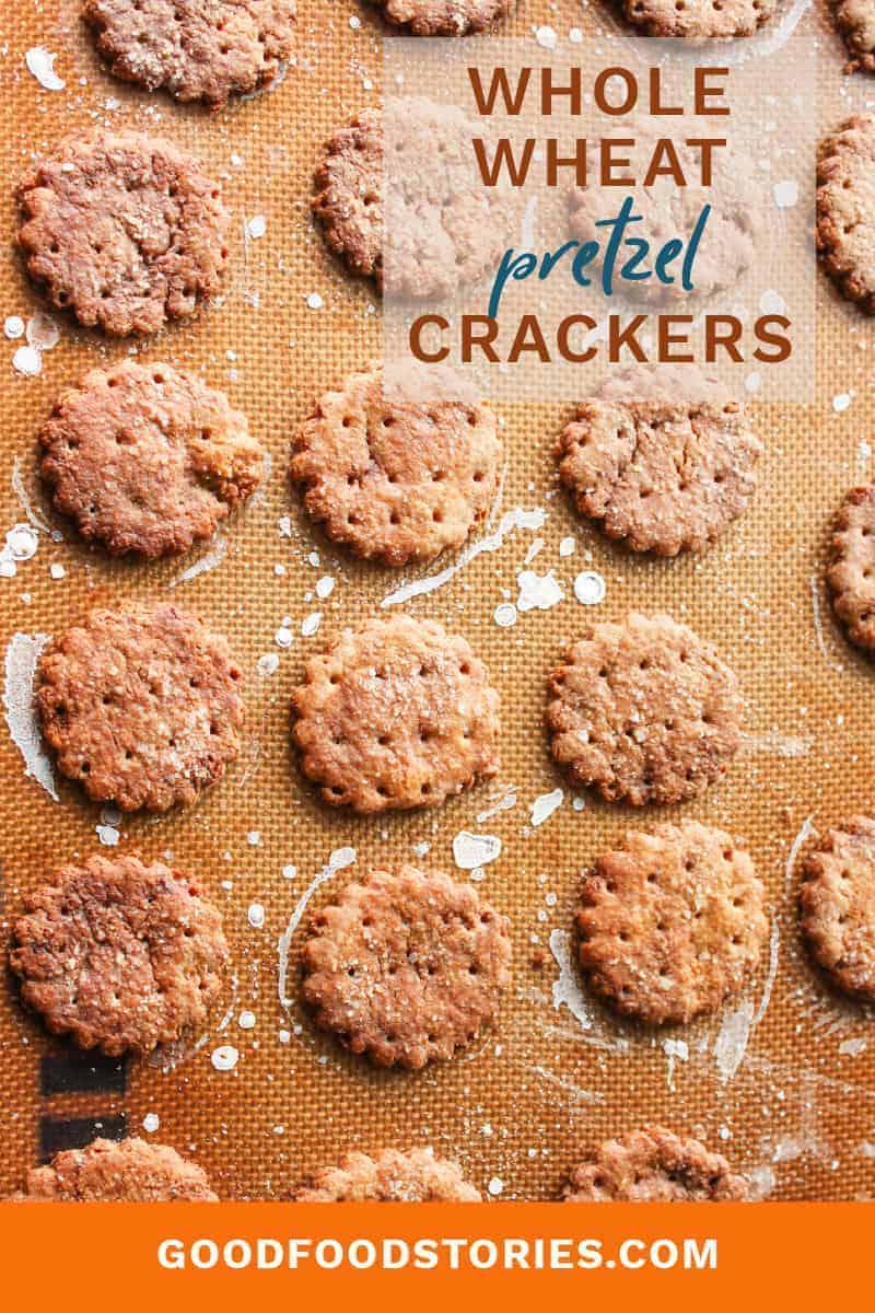whole wheat pretzel crackers