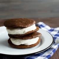 Whoopie Pie Ice Cream Sandwiches