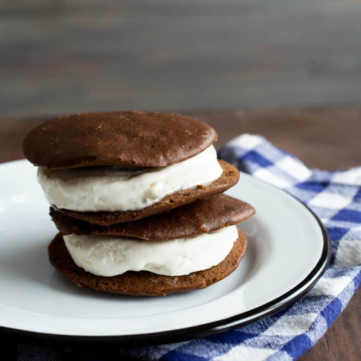 whoopie pie ice cream sandwiches