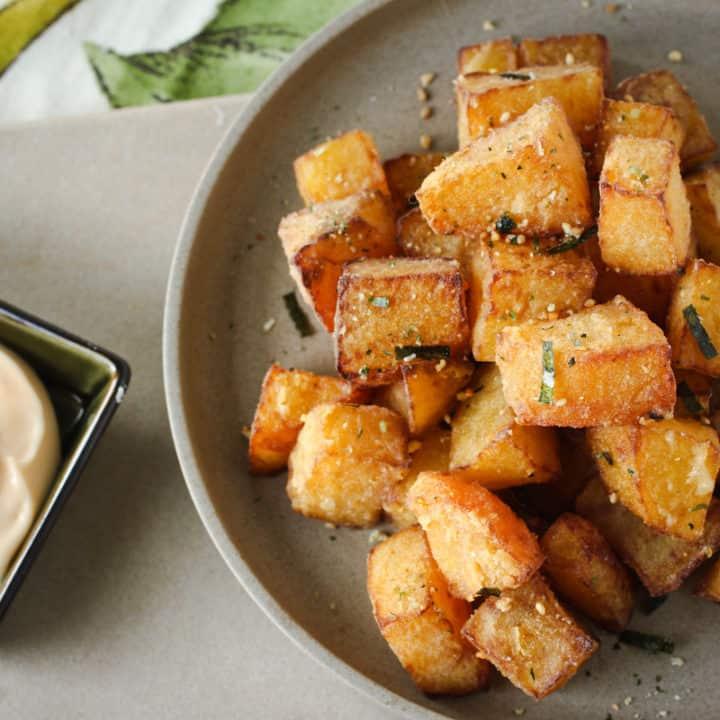 deep fried beets