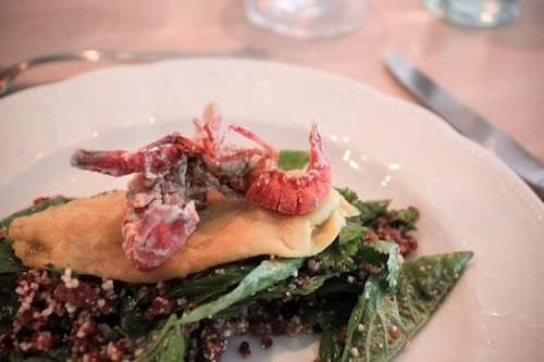 soft shell crawfish at Lenoir Restaurant in Austin, via goodfoodstories.com