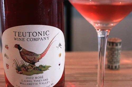 Teutonic Wine Co. rose, via www.www.goodfoodstories.com